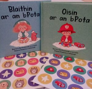 Gorgeous little book, as Gaeilge, on Potty Training by Bairbre Ni Chuanaigh